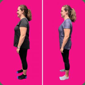 Karolina lost 20 kilos in 6 months